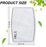 Stoff Maske - 10x Filter PM2.5 für Stoffmaske