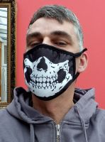 Stoff Maske - Skull