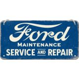 Blech Hängeschild - Ford / Service & Repair