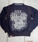 Old-School-Sweater von King Kerosin / Ride to Hell - Limited Edition