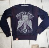 Old-School-Sweater from King Kerosin / Freedom Ride - Limited Edition