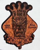 King Kerosin Sticker - King Tiki / small