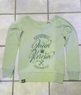 Sweatshirt from Queen Kerosin - Free & Wild / green