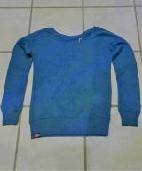 Sweatshirt von Queen Kerosin - Free & Wild / blau
