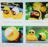 Ente mit Helm - 8 Ball
