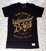 Vintage T-Shirt von King Kerosin - Independent Bikers / schwarz