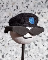 Antenna Topper- Cool Men with black Hat