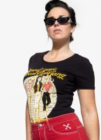 T-Shirt von Queen Kerosin - Girl Gang