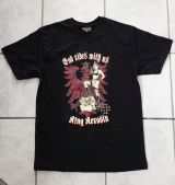 King Kerosin Regular T-Shirt / GRu - schwarz