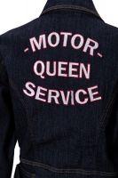 Workwear Kleid von QUEEN KEROSIN - Motor Queen Service / Dunkelblau