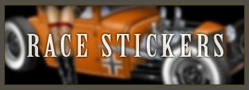 Vintage Race Sticker