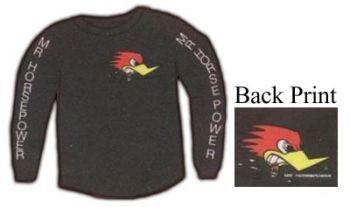 Mr.Horsepower Sweater  Sw-ClaySmith black