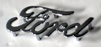 Chrome Schrift -Ford