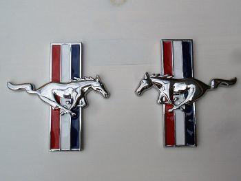 Seiten Emblem - Mustang Emblem