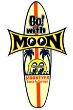 Race Sticker  St - moon Surfboard