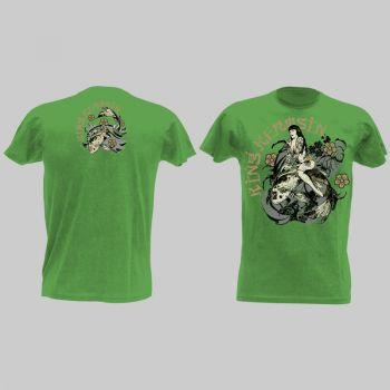 King Kerosin Vintage T-Shirt grün - mko / Vintage