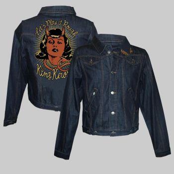 Frauen Jeans Jacke - Lets play