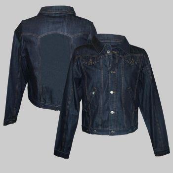 Women Jeans Jacke - blanko