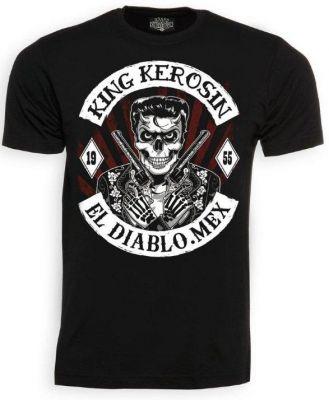 King Kerosin T-Shirt - El Diablo Mex.