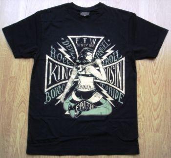 King Kerosin Regular T-Shirt / Born to Ride