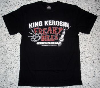 King Kerosin Regular T-Shirt black / Freaky Bill`s