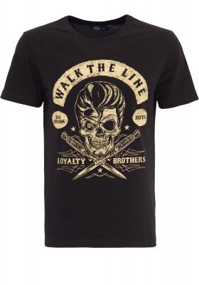 King Kerosin Regular T-Shirt / Walk the Line - Loyalty Brothers