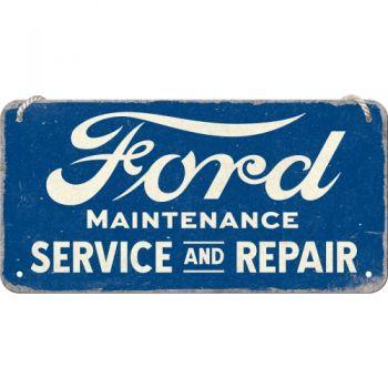 Blech Hängeschild - Ford / Service & Repair