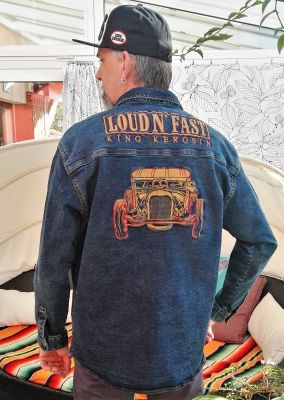 Jeans Hemd Limited Edition - Loud & Fast