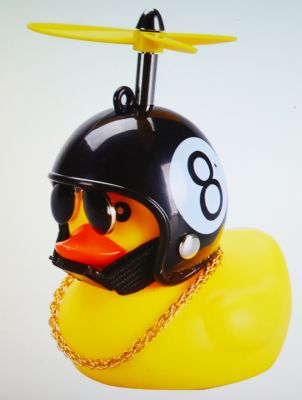Duck with Helm - 8 Ball