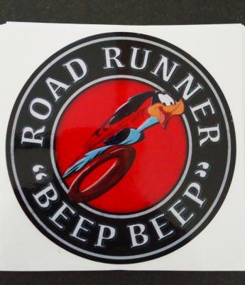 Race Sticker - Road Runner