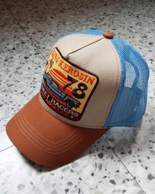 Trucker Cap von King Kerosin - Street Racers / Blau-beige