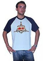 King Kerosin Raglan T-Shirt blue / elp