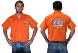 Race Gear Worker Shirt : Ws2-Gulf / orange