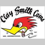 Clay Smith Cams Sticker small/left