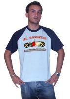 King Kerosin Raglan T-Shirt Blue / Lil Roadster