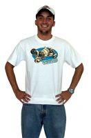 King Kerosin Regular T-Shirt weiss / evs1
