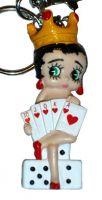 KEYCHAIN Gambling Betty Boop-KO3