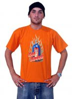 Race Gear T-Shirt Orange - Nitro