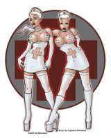 Nurses Clean Sticker St- Ad893