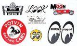Race Sticker  St - moon002