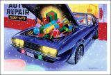 X-Mas Cards Custom Cars  X - 797