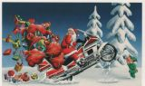 X-Mas Cards Motorcycle  X - 421