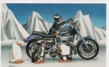 X-Mas Cards Motorcycle  X - 427