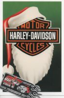 X-Mas Cards Motorcycle  X - 480