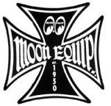 Race Sticker St - moon Malt.Cross bkl /L