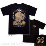 MOON EYES T-Shirt MQT074bk