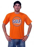 Race Gear T-Shirt Orange - Gulf