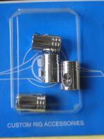 Ventilkappen - Piston Chrome Set.