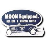 Race Sticker  St - Moon Equipped Hot Rod & Kustom Supply/blue