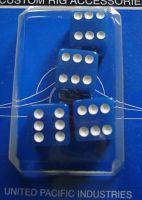 Ventilkappen - Würfel blau